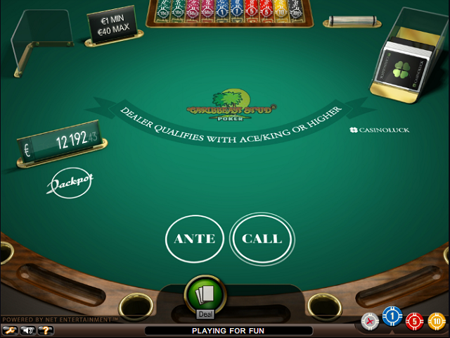 online casino for fun caribbean stud